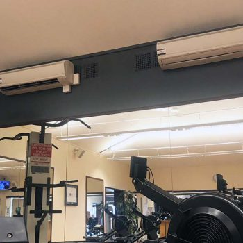 Air Conditioning Units in the Gym Building