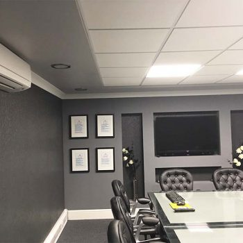 An Air Conditioning Unit in a Board Room