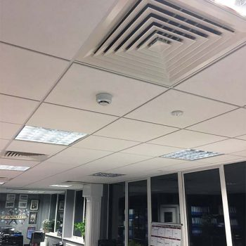 Multiple Air Conditioning Units on the Ceiling from another view