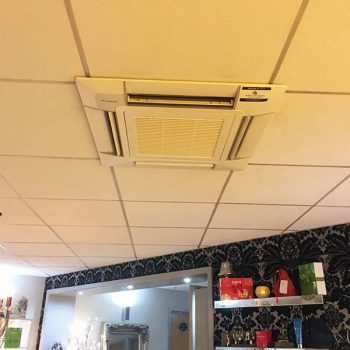 Air Conditioning Unit on the ceiling in an office