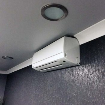Air Conditioning on the wall in an office