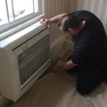 Installing an Air Conditioning Unit at Kensington Palace